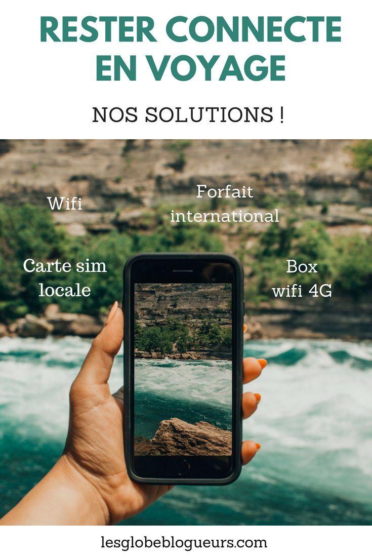 Quel Forfait Mobile Pour Un Voyage A L Etranger Internet En