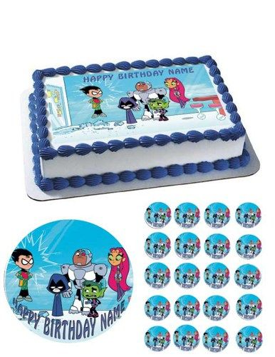 17 Best images about Teen Titans Party Time! on Pinterest ...