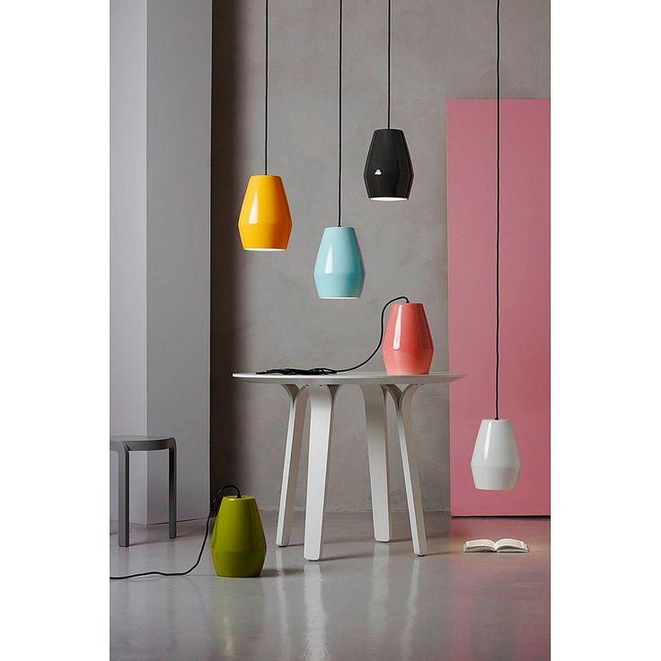 Northern Lighting Bell Hanglamp - Mosterdgeel #vtwonencollectie