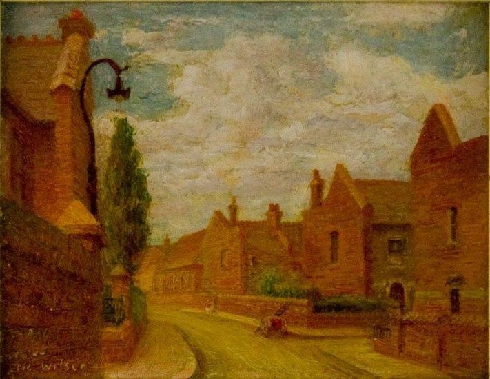 Street in Hammersmith, London, 1940: Eric Wilson.