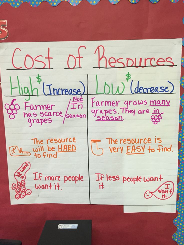 17 Best images about Financial Literacy Anchor Charts on Pinterest   In the classroom ...
