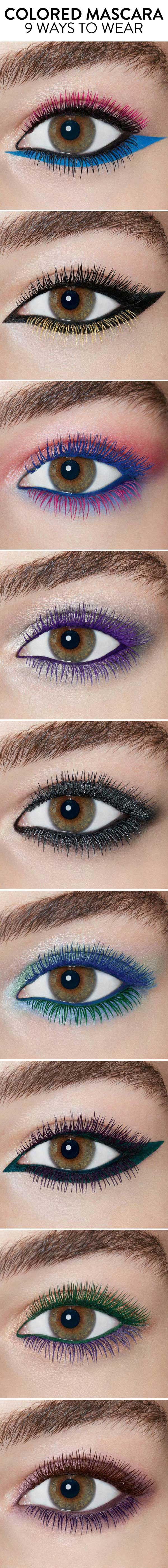 Colored mascara: best new colors and how to wear from Nordstrom.