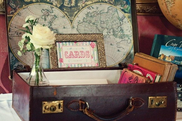 Wedding Card Suitcase