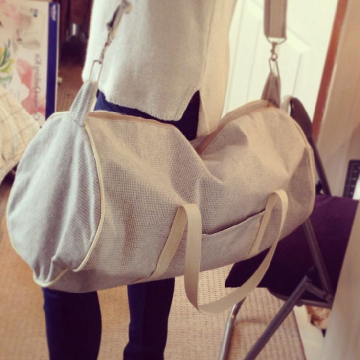 Duffle bag - perfect for the gym! Handmade by The Craft Tin