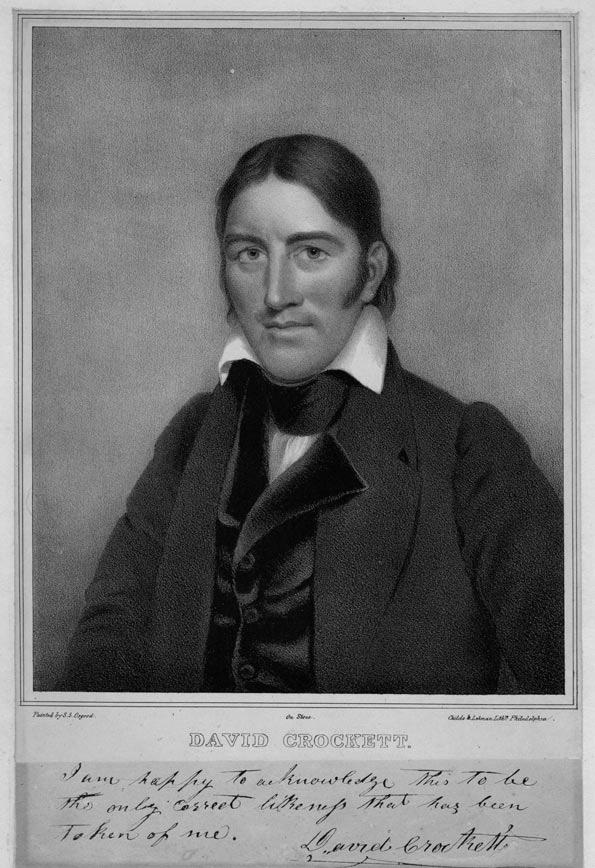 Crockett, David | Tennessee History for Kids