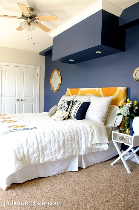 Best 25 navy gold bedroom ideas on pinterest blue and - Navy blue bedroom decorating ideas ...