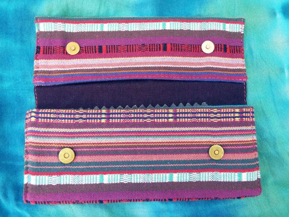 Tobacco Pouch Cotton Handmade Fabric Case Pocket por Laurelnymph