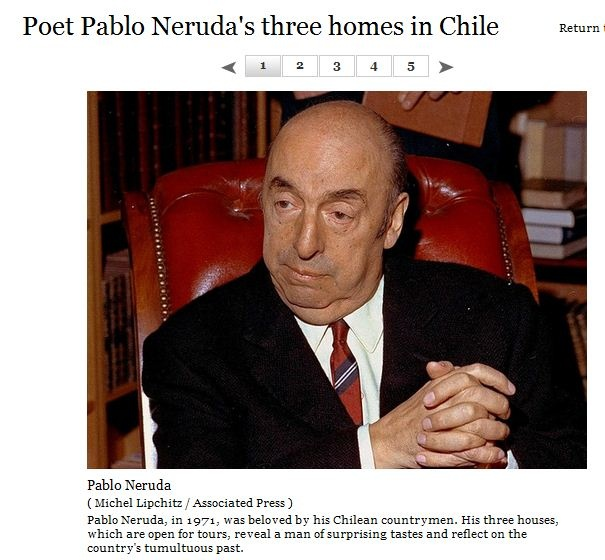 Chilean poet, diplomat and politician whose real name is Neftali Ricardo Reyes Basoalto.