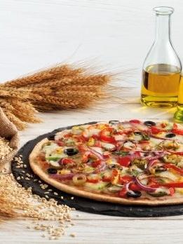 Fazla kilolarım var pizza yiyemem derdine son!                 Besleyici ve lezzetli tam buğday hamuru!