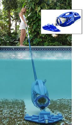 Pool Blaster Max Pool Vacuum #poolcleaner #poolvac #cleaningthepool #pooltime #swimming #pool