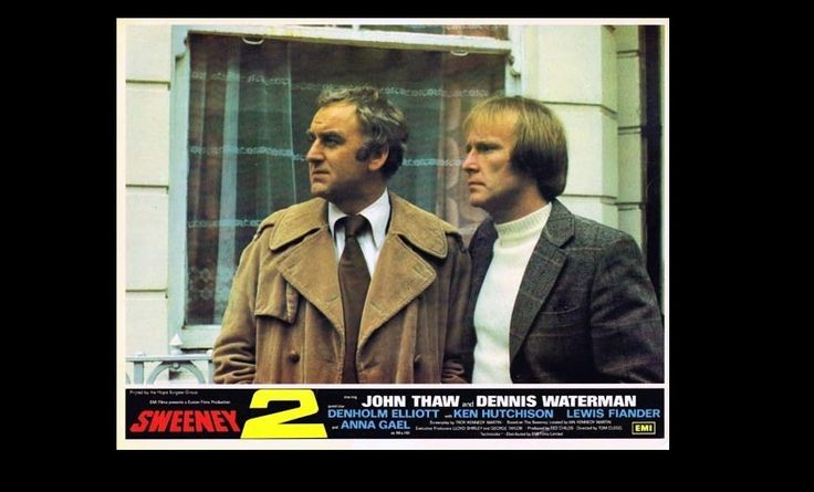 John Thaw and Dennis Waterman in Sweeney 2 (1978)