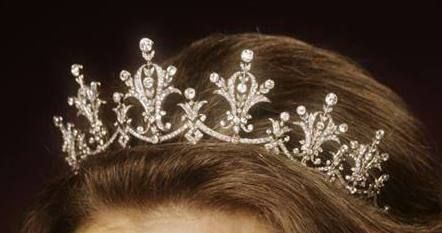 The Festoon Tiara: This was a gift to Princess Anne from the World Wide Shipping Group when she christened one of their ships in 1973.