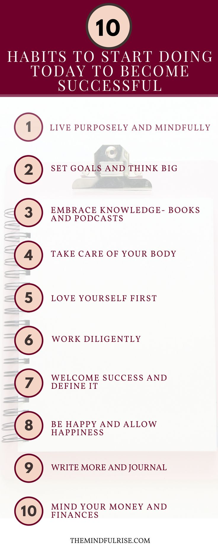 10 Habits to Become Successful | Girl Boss | Success in 2017