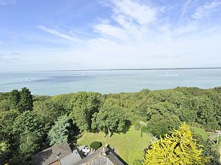 'The Blue House', a stunning coastal cottage with its very own beach!Holiday Rental in Cowes from @HomeAwayUK #holiday #rental #travel #homeaway