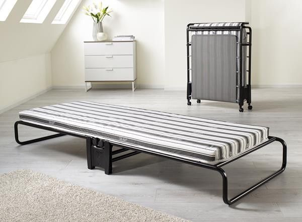 Jay Be Advance Single Folding Guest Bed With Airflow Fibre Mattress
