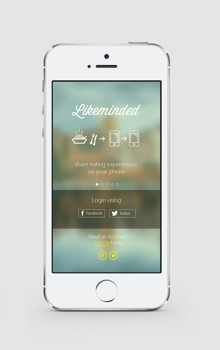 Application Design for Likeminded [2013]