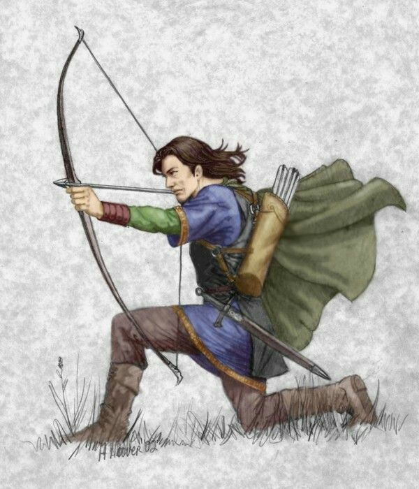 Faramir, by Hope Hoover. This is close to how I imagined him.
