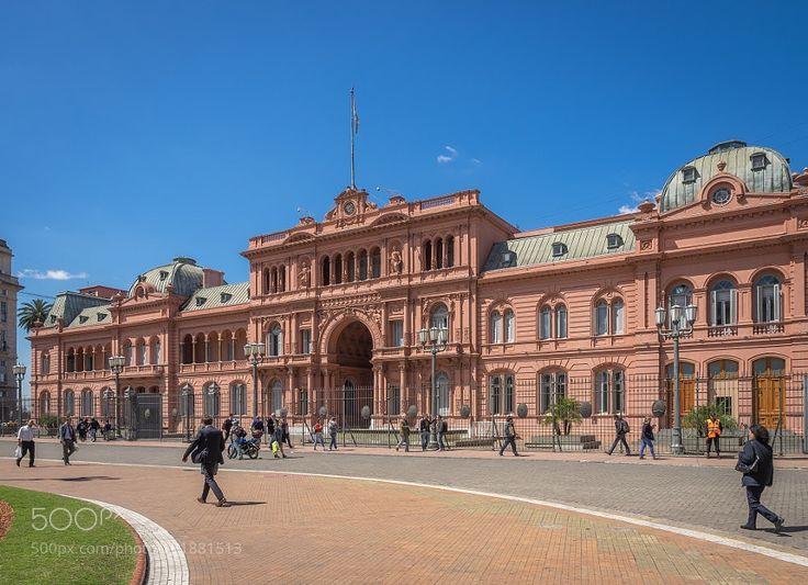 Popular on 500px : Casa Rosada Buenos Aires by andyoxley