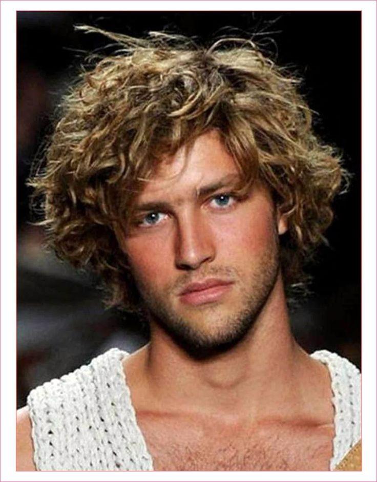 Frisuren Für Teenager in 2020   Frizzy hair men, Curly ...