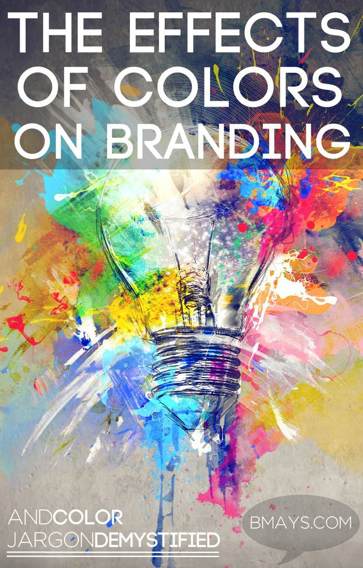 The effects of colors on branding by bmays design