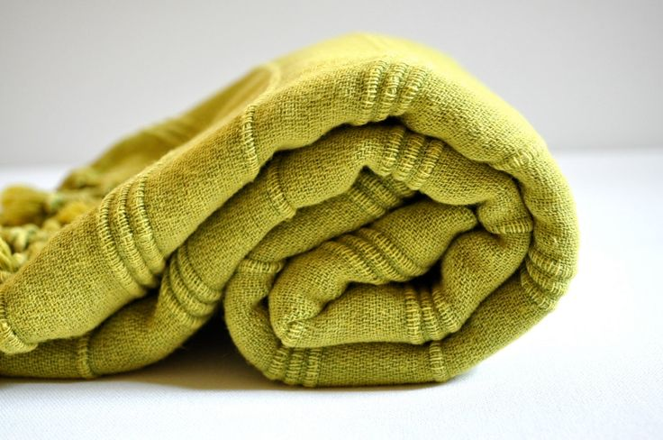 Turkish Towel Peshtemal towel Cotton Peshtemal Stone washed Oxide Green Towel pure soft by DokumaAtelier on Etsy https://www.etsy.com/listing/201259850/turkish-towel-peshtemal-towel-cotton