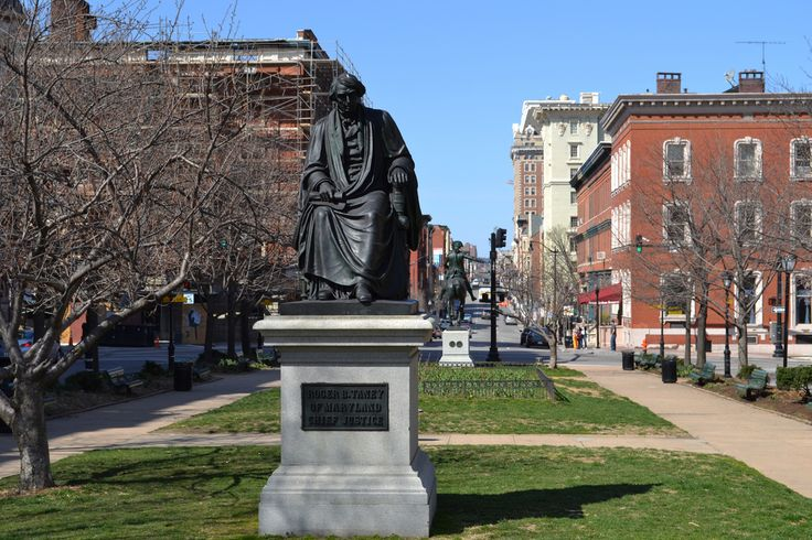 Roger B. Taney and John Eager Howard Monuments