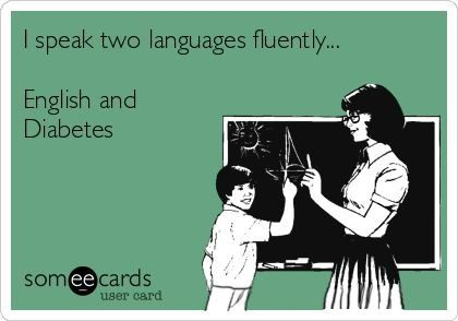 Two Languages | www.IAmAType1Diabetic.com