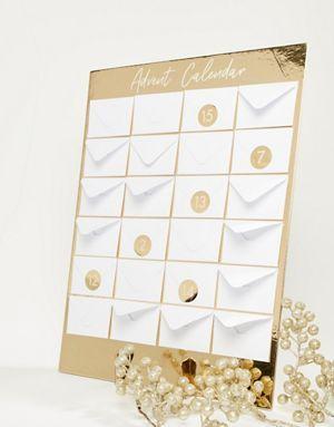 Ginger Ray Christmas Envelope Advent Calendar