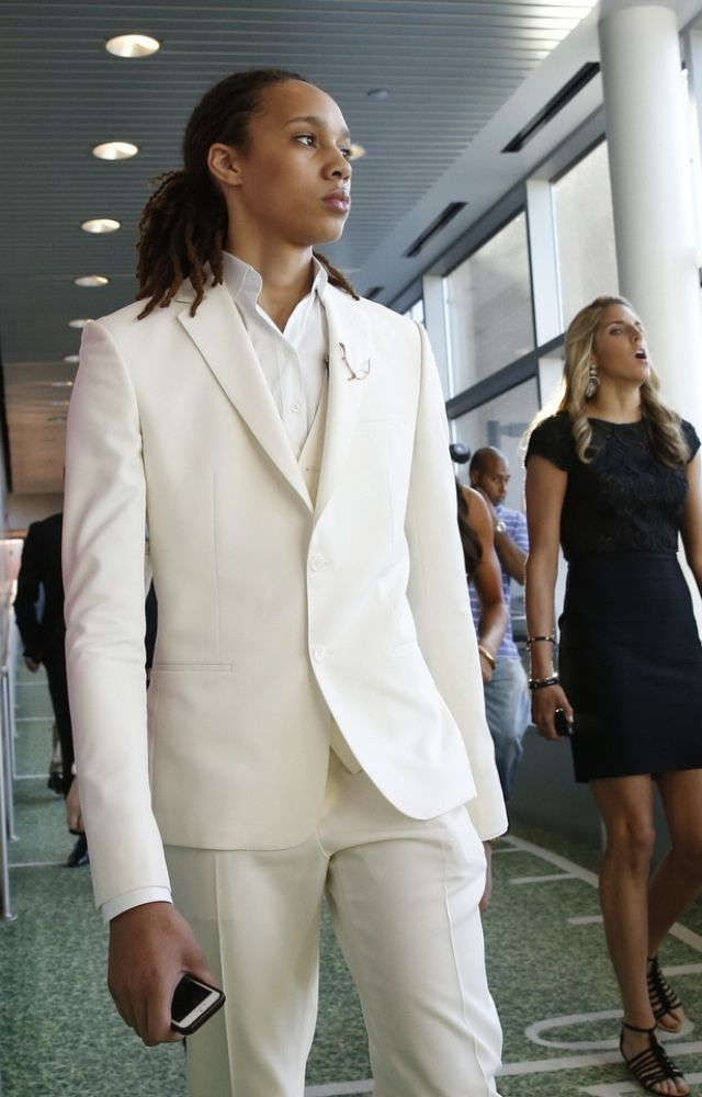 Teary-eyed Brittney Griner selected No. 1 by Mercury in WNBA draft