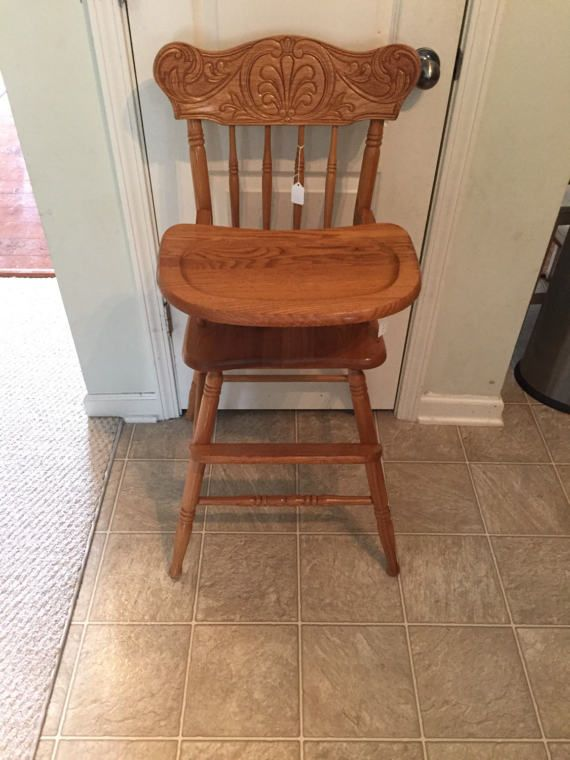 Vintage Wooden High Chair, Jenny Lind, Antique High Chair, Vintage High  Chair, Custom Painted High Chair, 1st birthday, Smashcake, Bentwood - Best 25+ Antique High Chairs Ideas On Pinterest Prim Decor