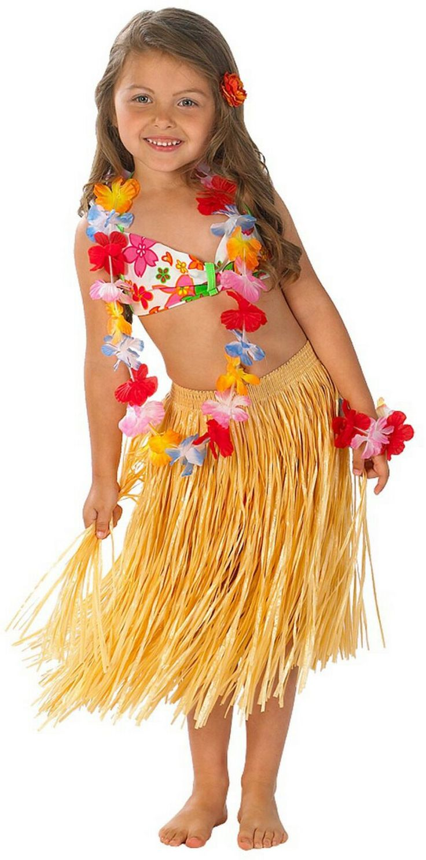 Kids Hula Girl Costume
