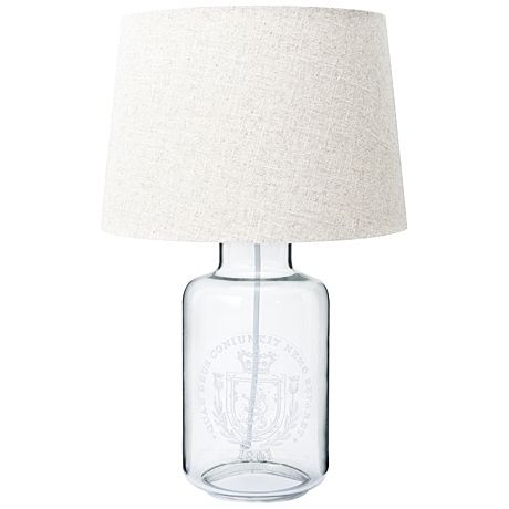 Crest Table Lamp 46.5cm