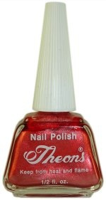 Theons #5 Nail Polish. Unchanged since who knows what year.