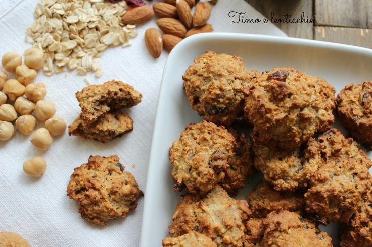 biscotti Diana del dott. Berrino - timo e lenticchie