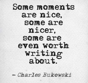 The same could be said about people. Some people are nice, some are even nicer. Some are really special & worth writing about. Then there are those really really special people you want to write to & say thank you for making life better. Thank you xx