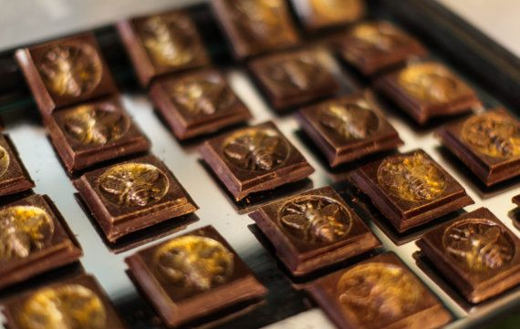 Savannah Honey Chocolate Bar by ChocolatbyAdamTuroni on Etsy