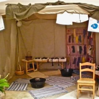 VBS Decorating Tips – Holy Land Adventure Marketplace Tents