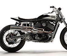 Thor's Hammer: Harley-Davidson Street 750 flat tracker