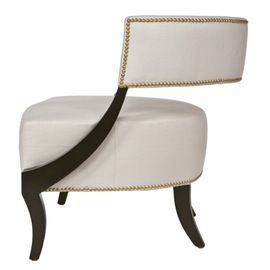 Evelyn Lounge Chair  Contemporary, Transitional, Upholstery  Fabric, Wood, Lounge Chair by Reagan Hayes