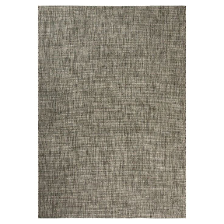 Jenkin Rectangle 2u00273X8u0027 Runner Outdoor Patio Rug   Grey / Turquoise    Safavieh
