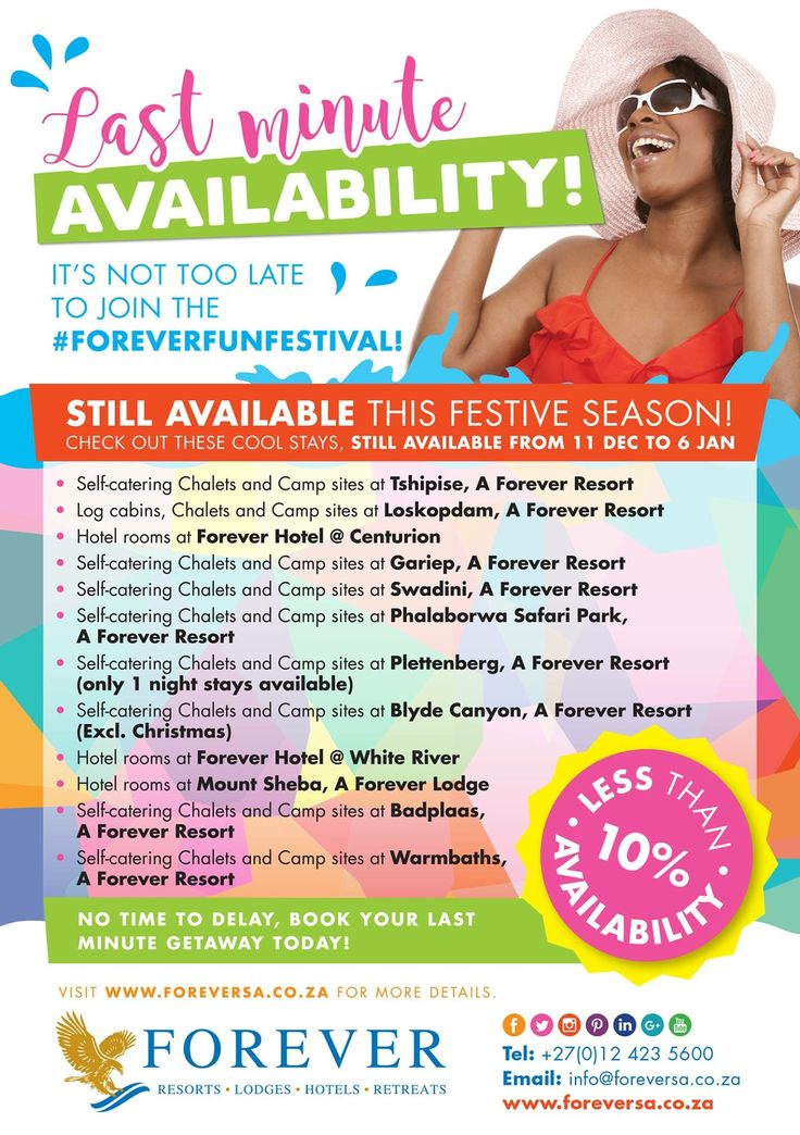 It's not too late to join the #FOREVERFUNFESTIVAL!!!