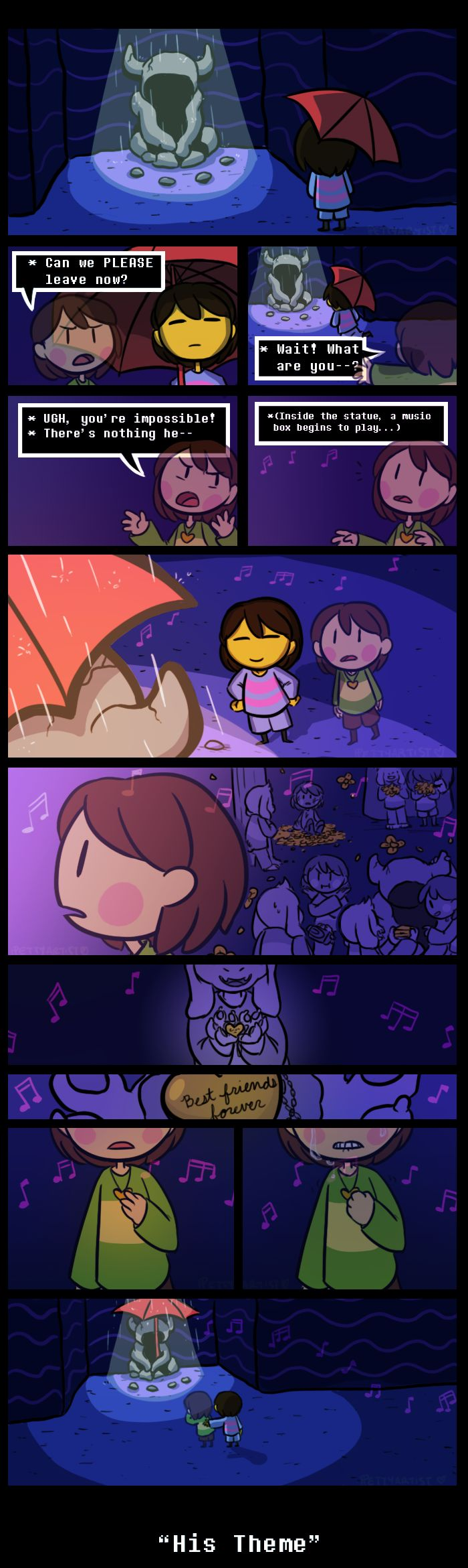 Gmail themes anime - Memory Undertale Spoilers By Pettyartist