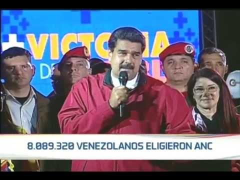 """Venezuela: Maduro celebra """"la votación más grande"""" en 18 años para la Asamblea Constituyente - NODAL"""