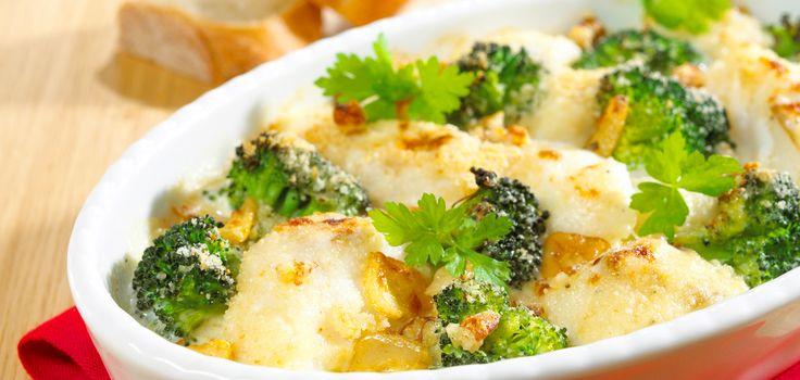 Seehecht-Brokkoli-Gratin