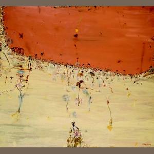 John Olsen (born 1928) Late Summer, Lake Eyre