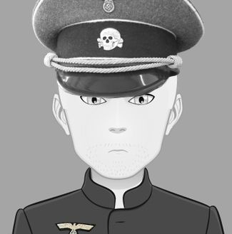 El oficial Hans Hauffman, de El Hilo Rojo. Un nazi que te pondrá los pelos de punta. Para saber más del personaje http://www.olgadellera.com/personajes-el-hilo-rojo/
