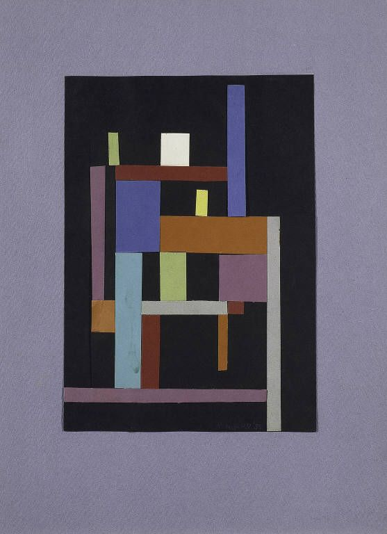 Ad Reinhardt - Collage (1938)