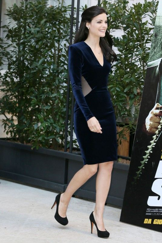 JAIMIE ALEXANDER at The The Last Stand Photocall in Rome