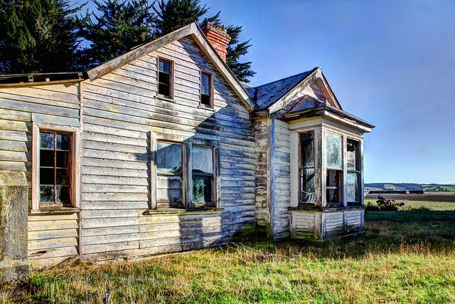 Abandoned.......haunted - Milton, Otago, New Zealand | Flickr - Photo Sharing!