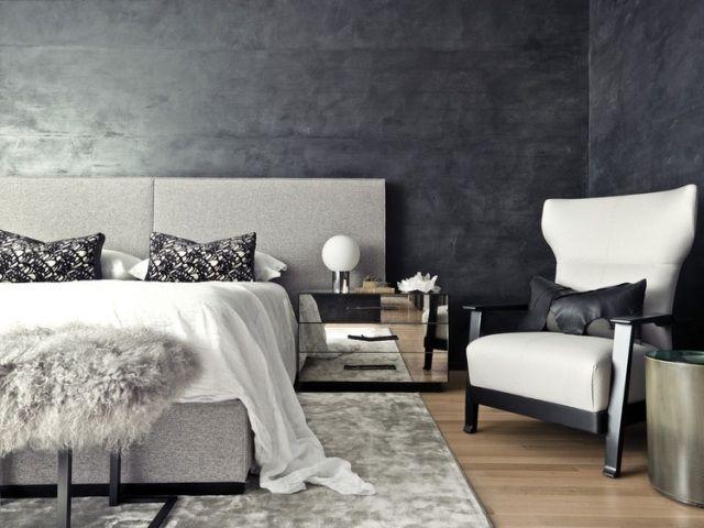 idee » schlafzimmer ideen wandgestaltung grau - tausende, Schlafzimmer design